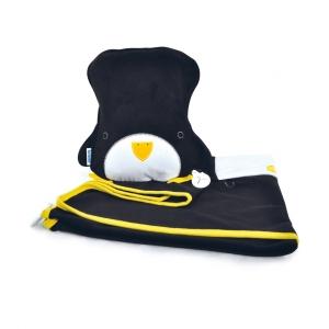 Подушка с пледом, Пингвин