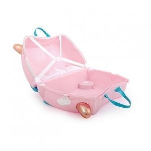 Чемодан на колесиках Фламинго Флосси